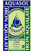 Iron aqualate Aquasol Nurti water soluble fertilizers
