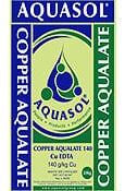 Copper Aqualate Aquasol Nurti water soluble fertilizers