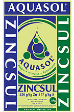 Zinc Sulphate Aquasol Nurti water soluble fertilizers
